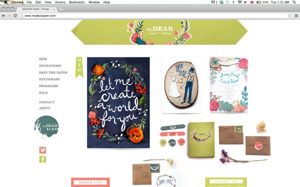 MyDear Paper + Things by Allison Freund, via Behance