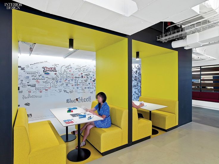 LinkedIn's vibrant Midtown office by M Moser Associates