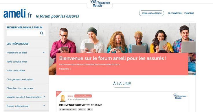 Assurance-maladie : un forum pour s'informer en ligne