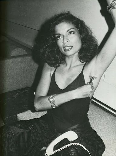 Bianca Jagger, one of the coolest