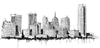Image result for cityscape drawing