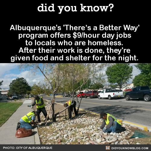 did you know? - Albuquerque's 'There's a Better Way' program...