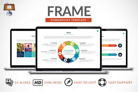 Frame | Keynote Presentation by Zacomic Studios on Creative Market
