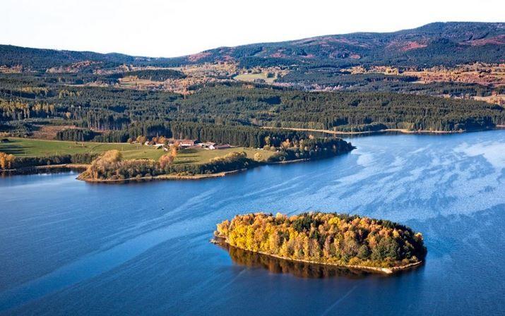 Lipno lake (South Bohemia), Czechia