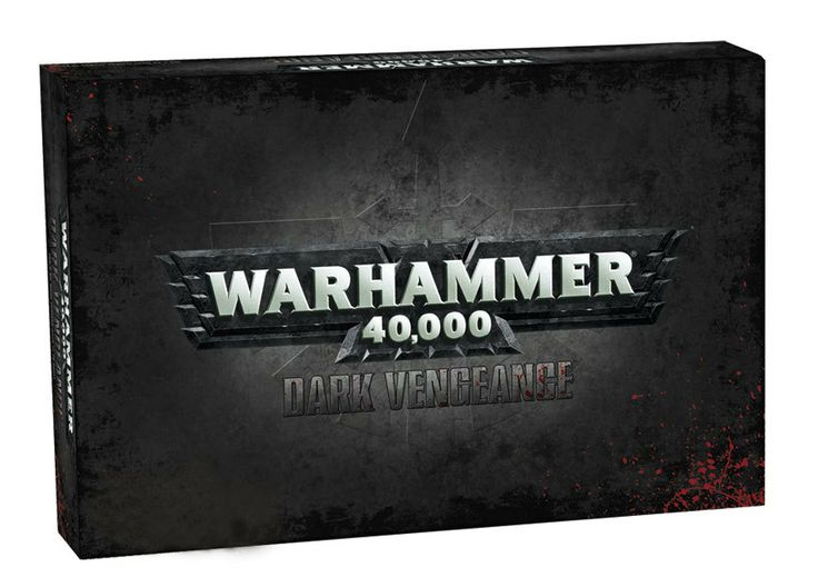 Jump into Warhammer 40k with this incredible box set. Includes two armies: Chaos Space Marines and Dark Angels (a total of 48 minis), full color 40k Rulebook, Assembly Guide, Dice, Templates and more!  Get into the game at Gryphon Games and Comics! www.gryphongamesandcomics.com