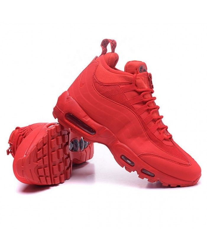 cb8ccc90191 Nike Air Max 95 Sneakerboot In Red Shoes
