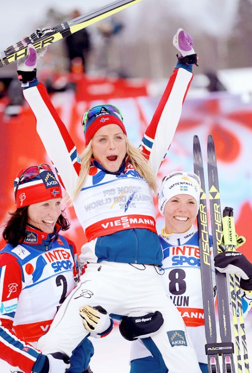 Therese Johaug - 30 km classic style FIS Nordic Ski World Champion 2015