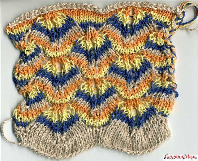 Missoni Style Knitting Stitches 2