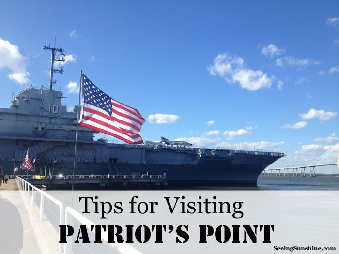 Tips for Visiting Patriot's Point -- a WWII air-craft carrier and battleship -- in Charleston, SC.