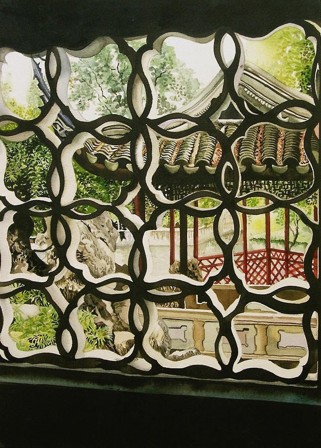 Chinese Window by Alfred Ng