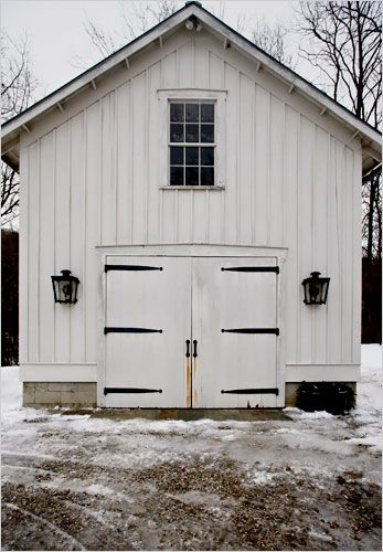 34 best garage images on pinterest cottage small houses for Board and batten shed plans