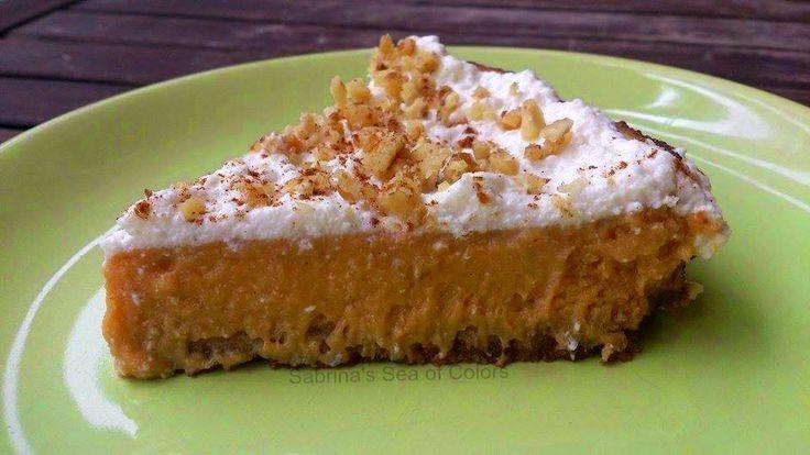 Sabrina´s Sea of Colors: Tarta de calabaza casera / Pumpkin Pie