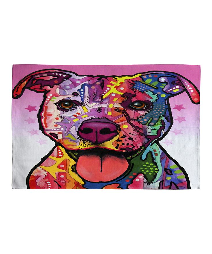 Cherish the Pitbull Woven Rug | Daily deals for moms, babies and kids