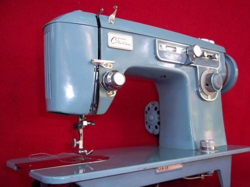 Vintage 1960s Heavy Duty Wizard Citation Sewing Machine