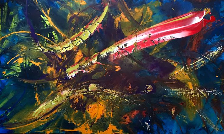 Acrylic on canvas - 2:00 mt x 1:20 mt. Gustavo A. Villegas H guscausaefecto@gmail Cel: (57) 313 432 7154 Fijo: 460 12 45