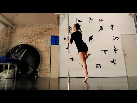Intermediate Pole class by Anna Bia - YouTube