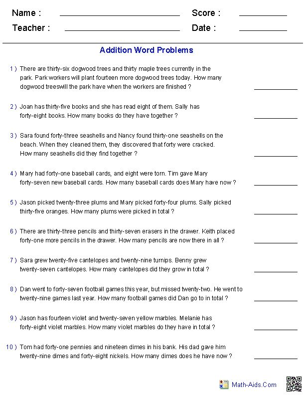 Free Days Of The Week Worksheets Preschool Worksheets Days Of The Week Worksheet For School W In 2020 Addition Word Problems Subtraction Word Problems Addition Words