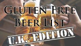 Gluten Free Beer Brand List (U.K. Edition)