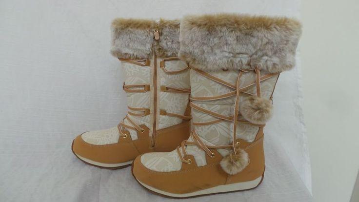 New Girls Timberland Size Zip Winter Boots Style 70936M Tan 78P hr  | eBay
