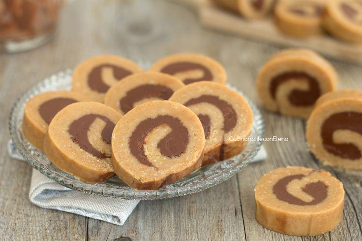 girelle di biscotti alla Nutella senza cottura 1