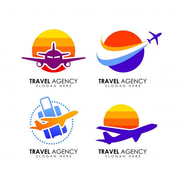 Plantilla De Diseño De Logotipo De Agencia De Viajes Vector Premium Logo De Viaje Agencia De Viajes Logos Con Letras