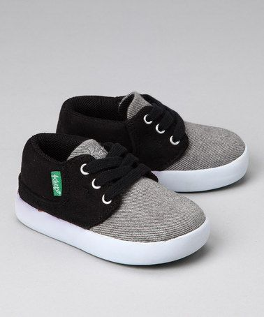 Black Suede sneaker by Keep.  I love this shoe brand...they are ADORABLE....