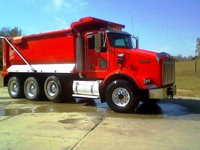 dump trucks for sale | USED 2007 KENWORTH Dump Truck T800 for sale