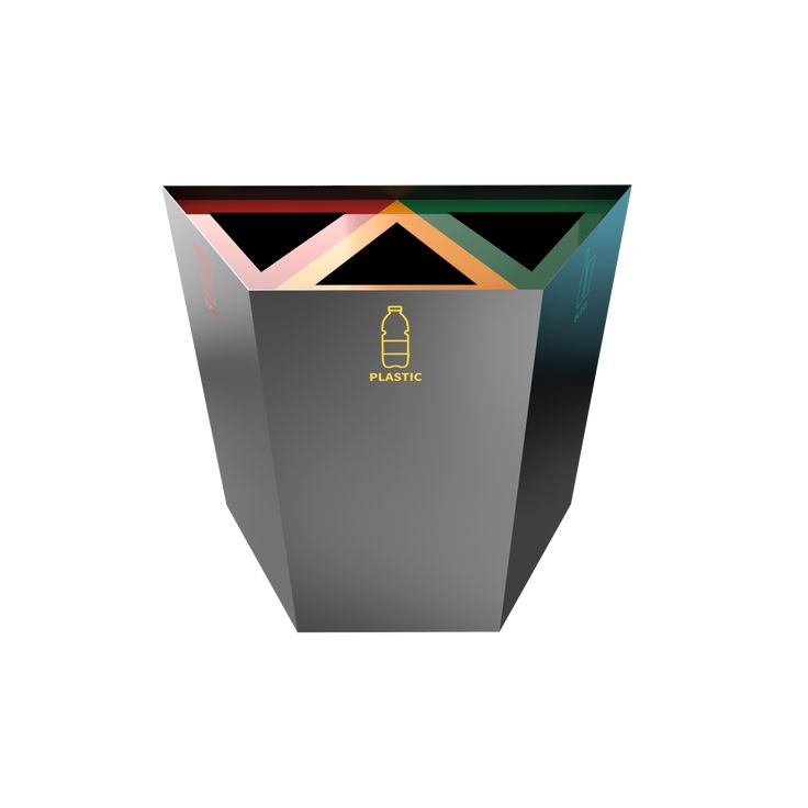 AMPATO PC - Geometrical recycling bins