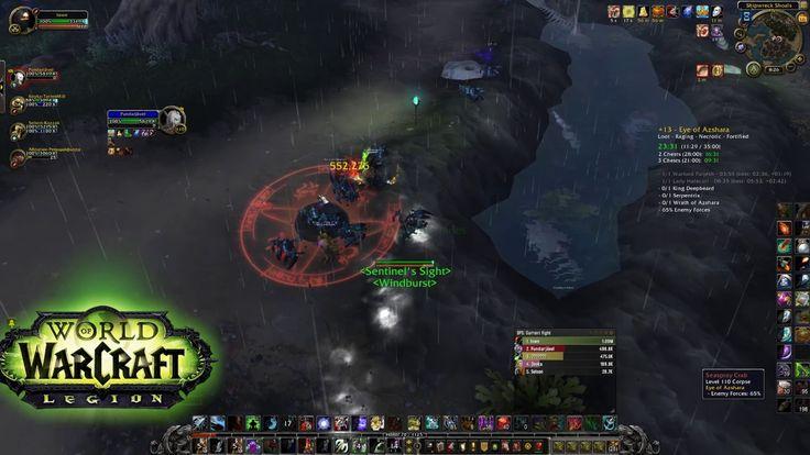 World Of Warcraft - Eye of Azshara +13 Mythic Keystone 2 chests(ilvl 900...