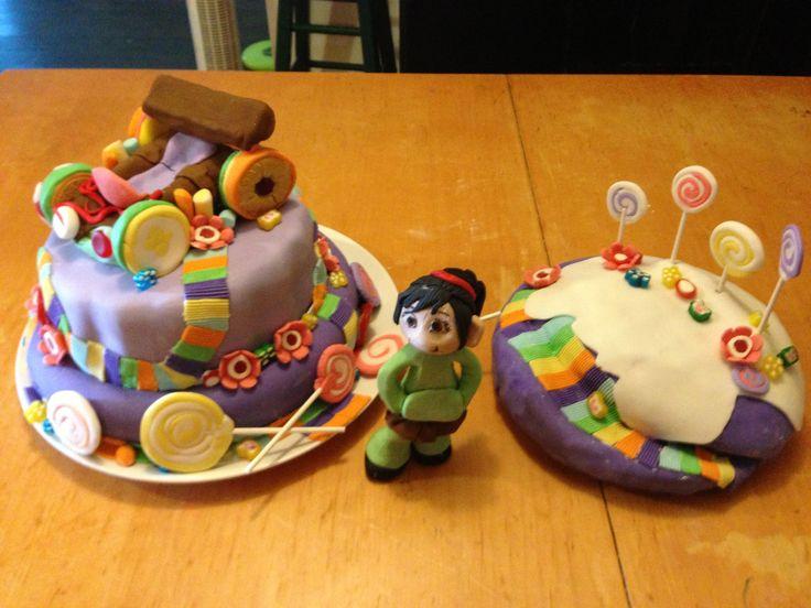 Vanellope Von shweets car cake