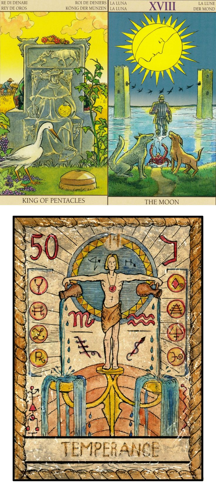 Best 25 Vintage Tarot Cards Ideas On Pinterest The Moon Tarot Card Tarot Card Art And The
