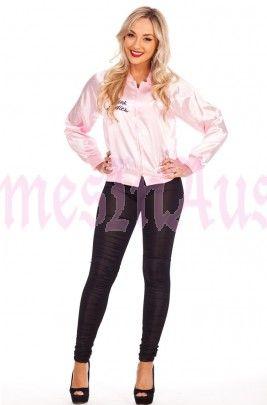 Ladies 1950s Grease Pink Ladies Jacket