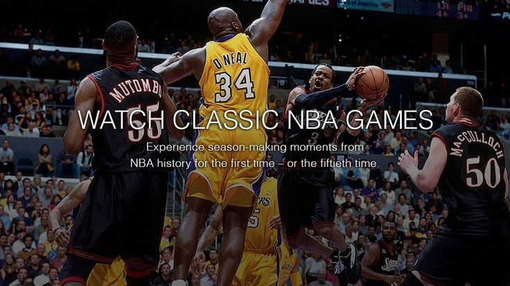 Watch Live NBA Games with NBA LEAGUE PASS from NBA.COM