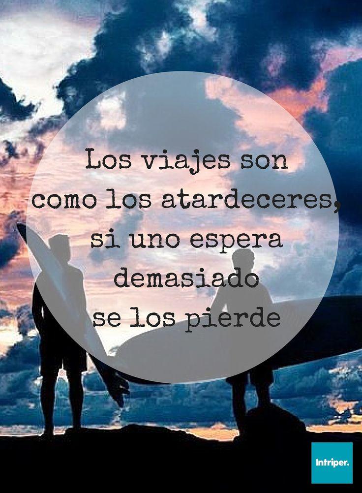 No hay que perder el tiempo✌  #intriper #viajero #momentos #atardeceres #traveller #sunset #time #enjoy #life #live #cuotes