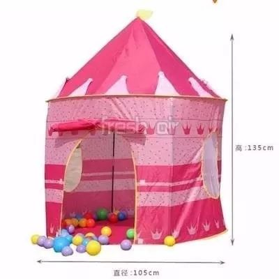 castillo carpa juguete princesas casa disney niña niño bebe