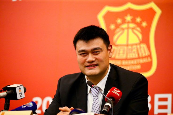 Hall of Famer Yao Ming unanimously elected president of the Chinese Basketball Association http://ble.ac/2lzhjsj