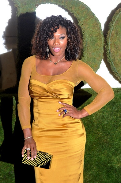 Bombshell Serena Williams - Wimbledon Championships 2012 Winners Ball