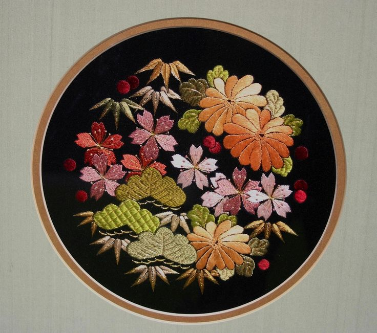 687 Best Images About Traditional Japanese Embroidery On