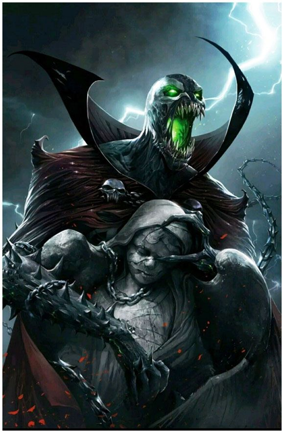 """Spawn #280 Francesco Mattina Cover Variants """"666 Print Run"""". Click the pic and find out more..."""
