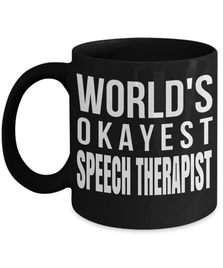 Funny Speech Therapist Gifts - Speech Therapists Mug -