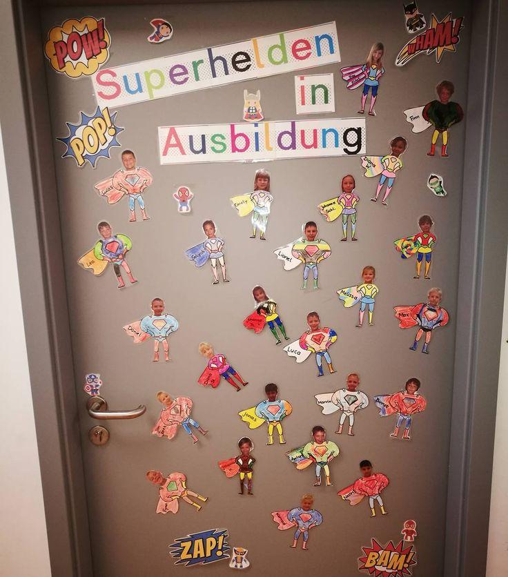 Herzlich willkommen bei den #superheldenInAusbildung #zweiteklasse #Grundschule …