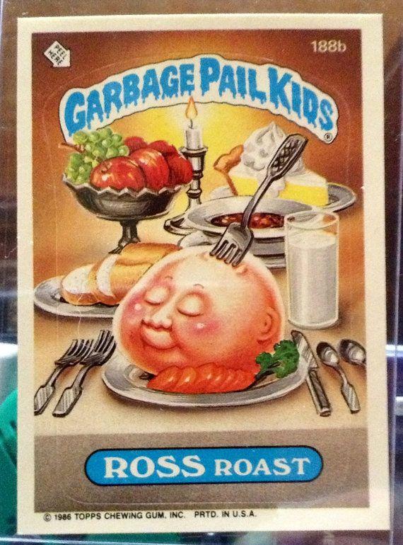 1986 Topps Garbage Pail Kids Trading Card #188b
