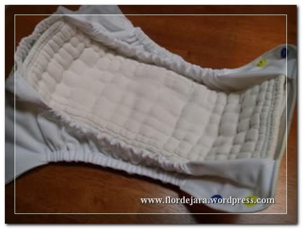 Tutorial de pañal con barreras en las piernas en la tela interior | Era 3