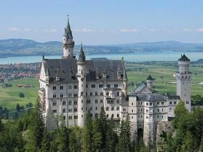 Neuschwanstein = New Swan Castle; in Bavaria. Marked off the bucket list with my mother in law over 5 years ago... How time flies we miss u!