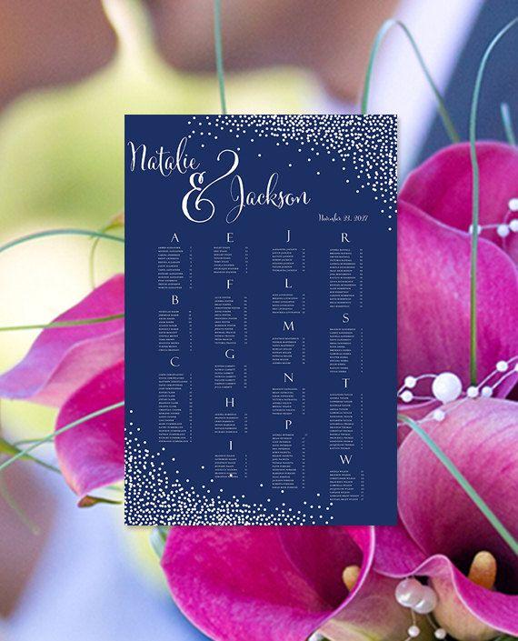 ステキ♡結婚式の青でエレガントな席次表まとめ一覧♡