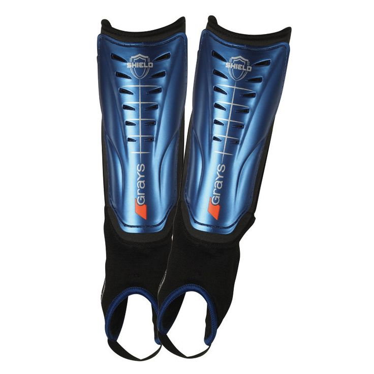 High impact plastic shell, shock absorbing, high density foam lining, fixed soft ankle disc and achilles padding shin guard. Ideal for young club and school players. Available in 3 sizes.