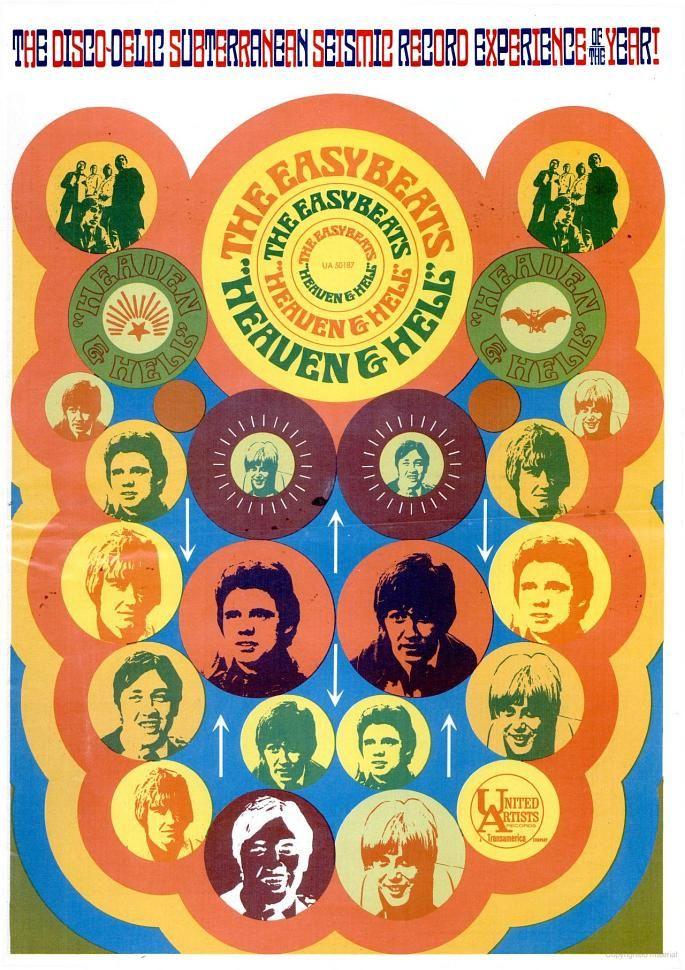 Easybeats with the Disco-Delic Subterranean Seismic Record Experience of 1967.