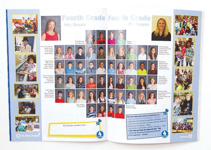 Kensington Elementary School 2014 Class Photos - Yearbook Discoveries