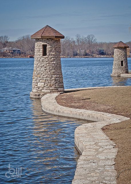 lighthouse on the Fox River -  Upper River Corridor, St. Charles, IL, US. by cbiiidesigns, via Flickr