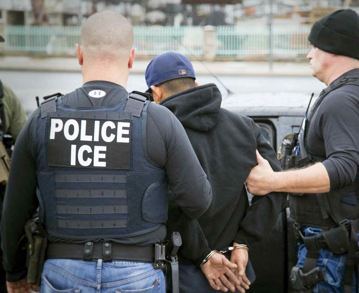 TRENTON  >> The U.S. Immigration and Customs Enforcement (ICE) made an unannounced visit to the capital city on Thursday.